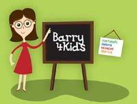 children website Barry4kids, in four languages